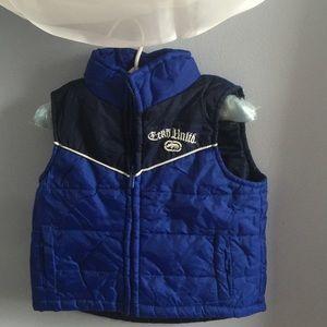 Eckō Unltd toddler puffer vest size 18 mos